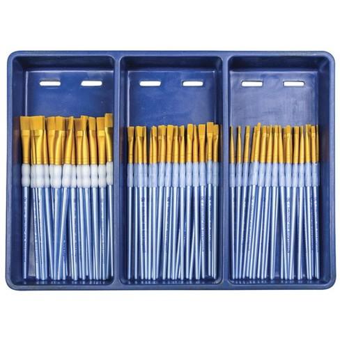 Royal Brush Scholastic Choice Gold Taklon Brush Set, set of 72 - image 1 of 1