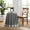 Kate Aurora Country Farmhouse Plaid Buffalo Check Stain & Spill Proof Fabric Tablecloths - image 2 of 4