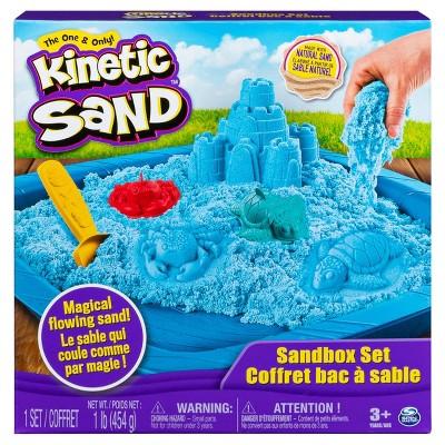 Kinetic Sand Sandbox Set - Blue