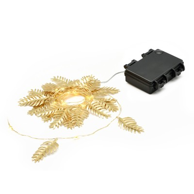 25ct LED Mini String Lights - Gold Leaf - Project 62™