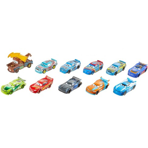 Disney Pixar Cars Piston Cup Race Die-Cast 11pk - Individual Cars May Vary