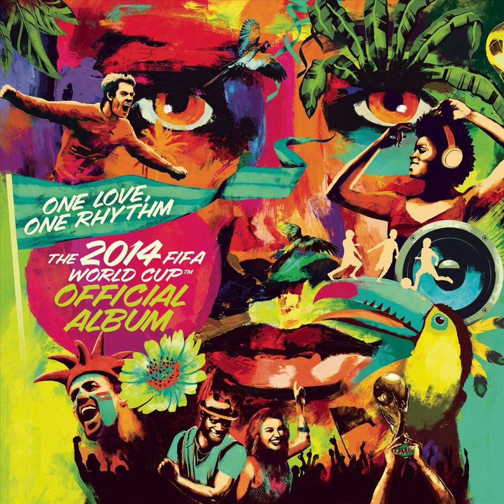 Various Artists - One Love, One Rhythm: The 2014 Fifa World Cup Official Album (Deluxe Edition) (CD)