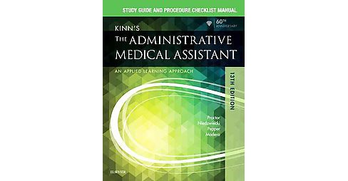 Kinn's the Administrative Medical Assistant : Study Guide and Procedure Checklist Manual (Paperback) (R. - image 1 of 1