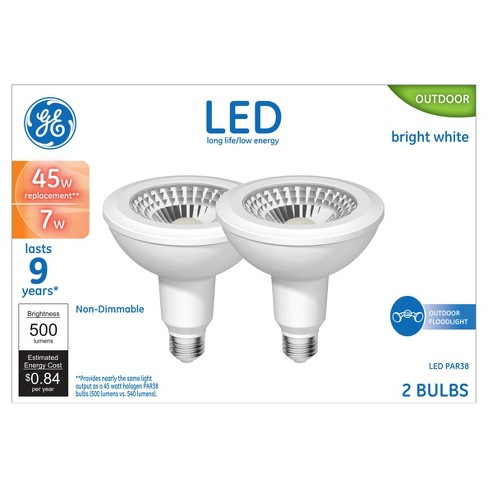 General Electric - LED - 45W - 2pk - Soft White - image 1 of 2