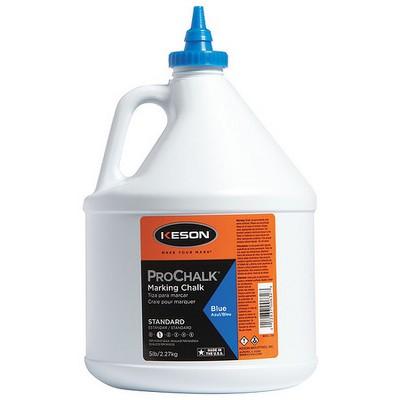 KESON 105B Marking Chalk Refill,Blue,5 Lb