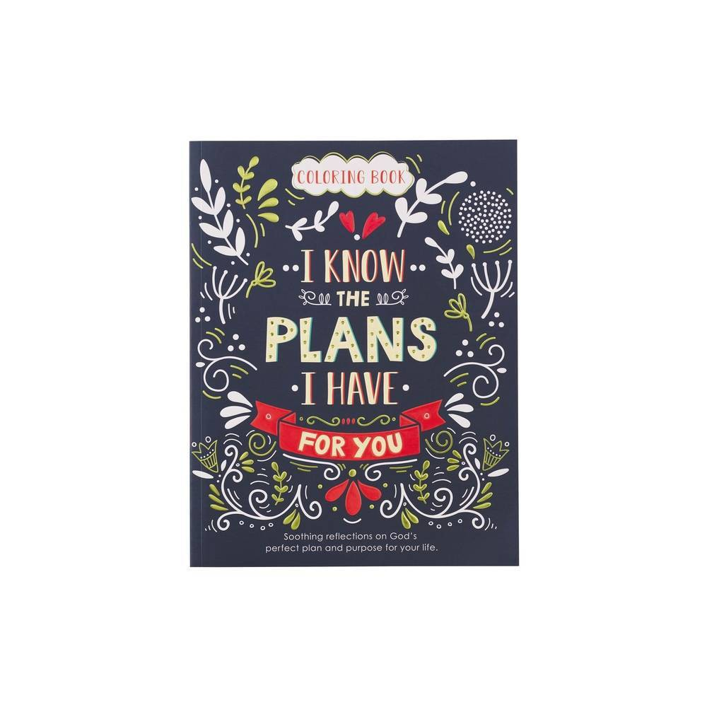 Coloring Book I Know The Plans 9 99 Paperback