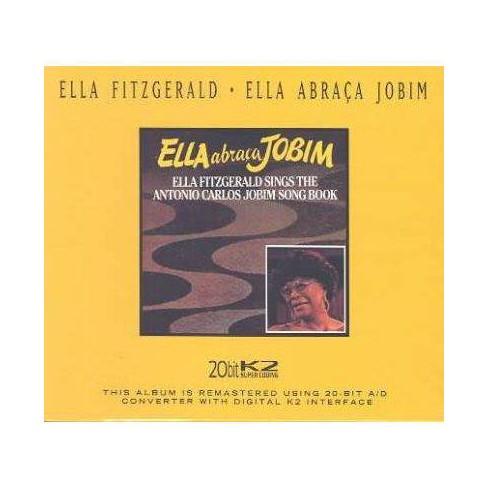 Ella Fitzgerald - Ella Abra‡a Jobim: Sings the Antonio Carlos Jobim Songbook (Remaster) (CD) - image 1 of 1