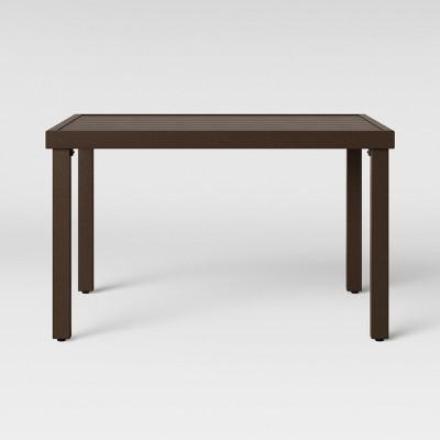 Halsted Patio Coffee Table Brown - Threshold™