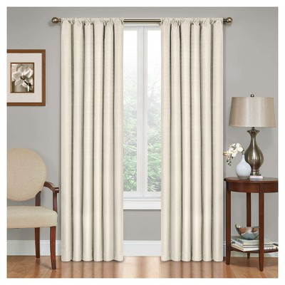 Kendall Thermaback Blackout Curtain Panel Ivory (42 x63 )- Eclipse™