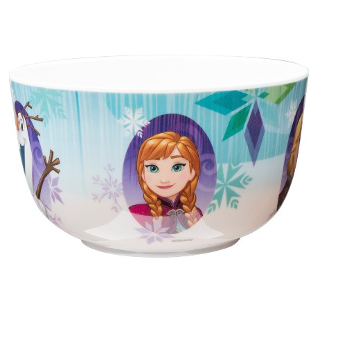 "Frozen 4.5"" Bowl Melamine - Zak Designs - image 1 of 2"