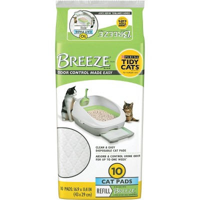 Purina Tidy Cats Cat Pads BREEZE Refill Pack - 10ct