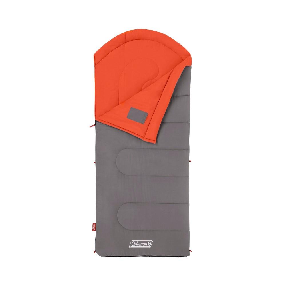 Coleman Cont Dexter 50 Degree Regular Sleeping Bag Orange