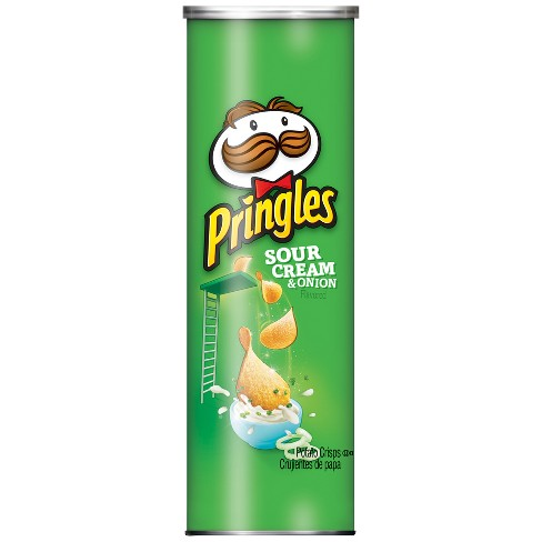 Image result for sour cream and onion pringles