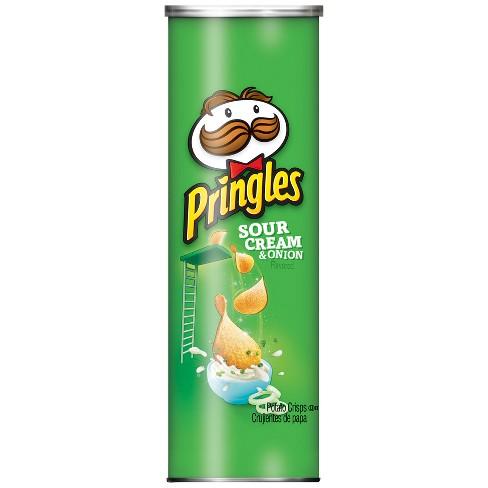Pringles Sour Cream & Onion Potato Crisps - 5.5oz - image 1 of 4
