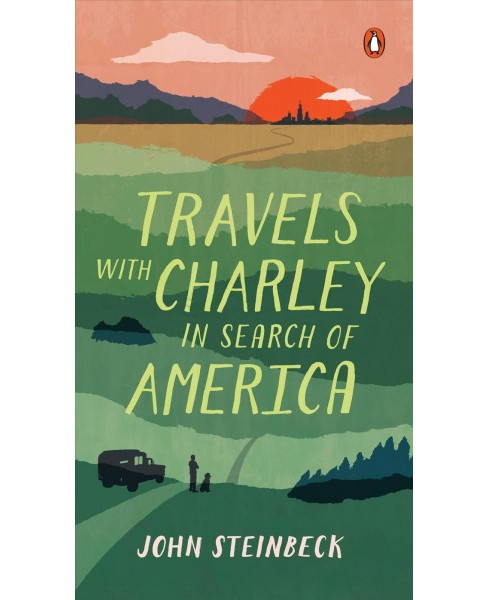 Travels With Charley : In Search of America -  by John Steinbeck (Paperback) - image 1 of 1
