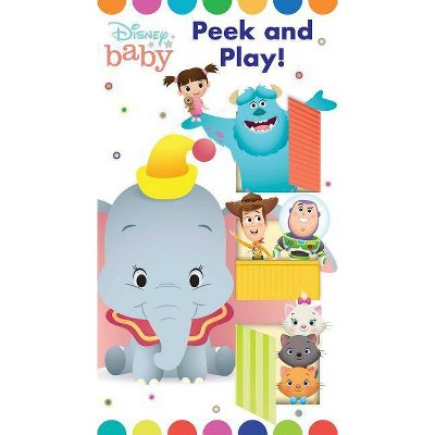 Disney Baby: Peek and Play - (Lift & Slide)by Maggie Fischer (Board Book)