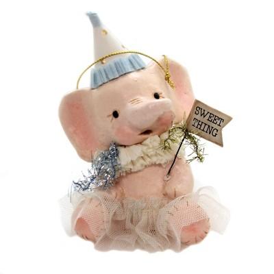 "Easter 5.25"" Sweet Thing Ellie Pink Elephant Tutu  -  Decorative Figurines"