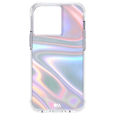 Case-Mate - SOAP BUBBLE - Case for iPhone 13 Pro Max - 10 ft Drop Protection - 6.7 Inch - Soap Bubble - image 1 of 4