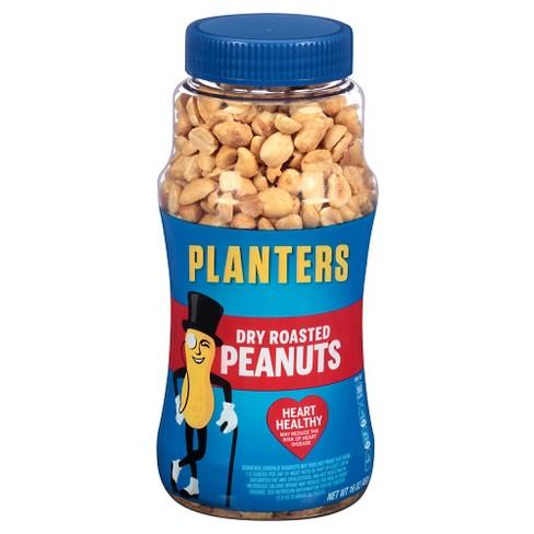 Dry Roasted Peanuts - 16oz