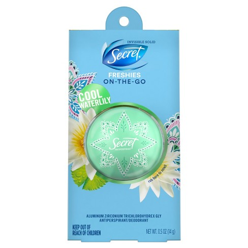 Secret Freshie Cool Waterlily Invisible Solid Antiperspirant and Deodorant - 0.5oz - image 1 of 2