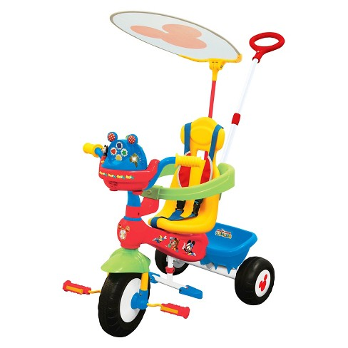 Kiddieland Disney Mickey Mouse Clubhouse Push N' Ride Trike - image 1 of 2