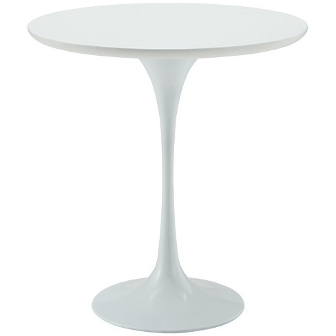 "Lippa 20"" Wood Side Table White - Modway - image 1 of 4"