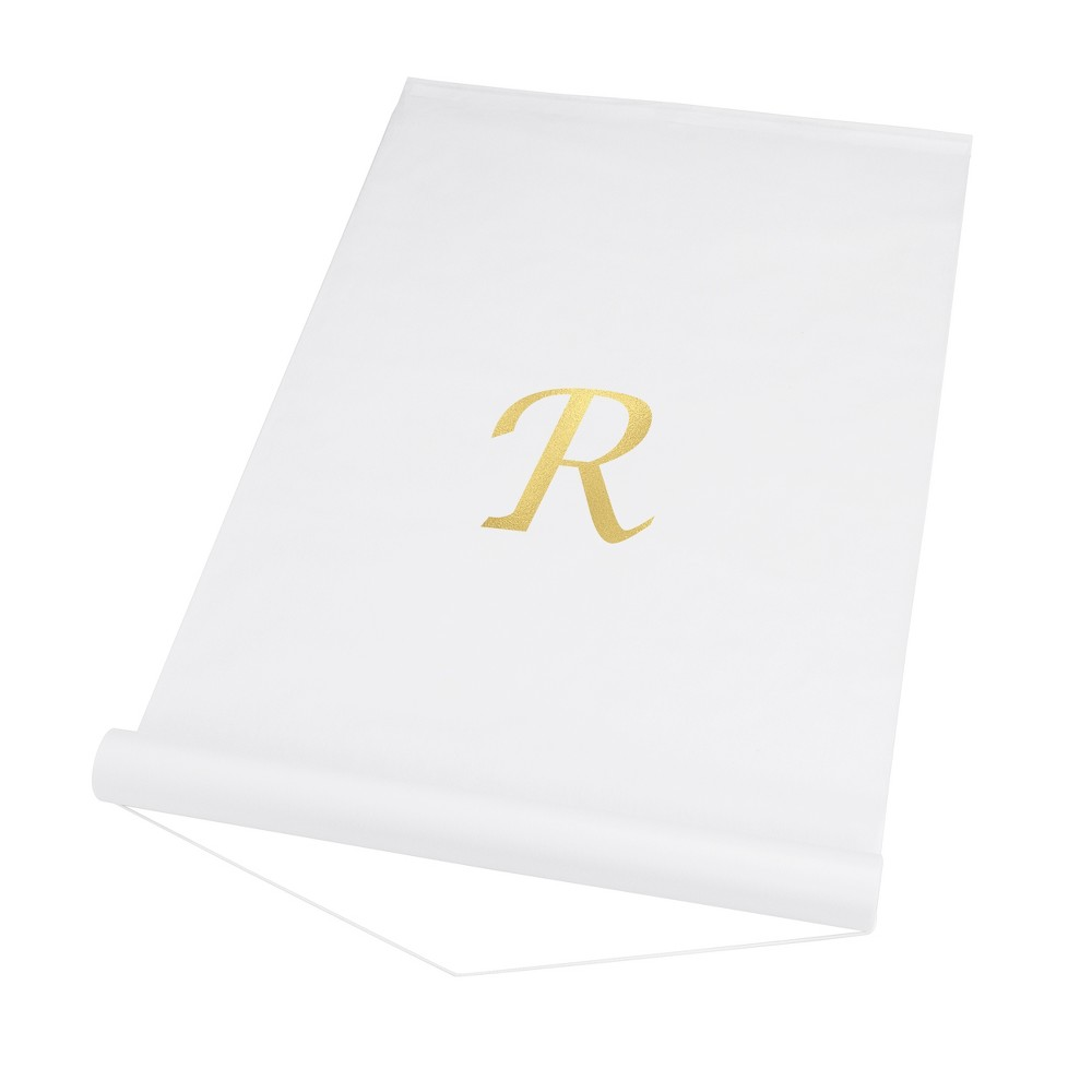 Cathy S Concepts White Personalized Wedding Aisle Runner R