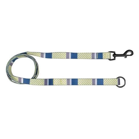 Bow & Arrow Stripe Dog Leash - Indigo - image 1 of 1