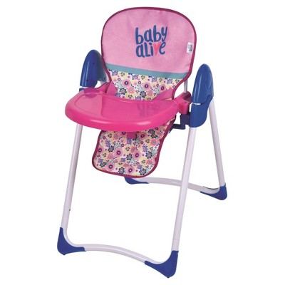 Baby Alive Doll Deluxe High Chair : Target