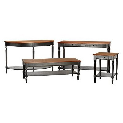 French Country Table Collection   Convenience Concepts