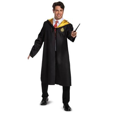 Adult Harry Potter Hogwarts Halloween Costume Robe One Size