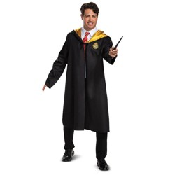 Adult Harry Potter Hogwarts Halloween Costume Robe One Size
