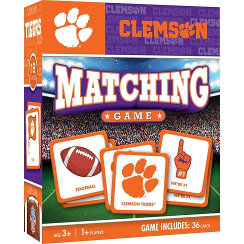 NCAA Clemson Tigers Matching Game - image 1 of 2