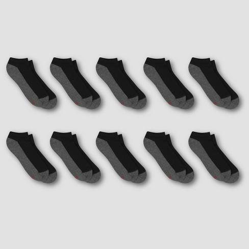 Hanes Premium Men's 10pk Cool Comfort Low Cut Socks - image 1 of 3