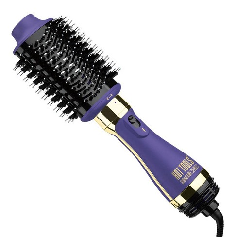 Hot Tools Signature Series One Step Blowout Detachable Volumizer and Hair Dryer - Purple - image 1 of 4