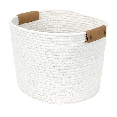 13  Square Base Tapered Basket Medium Cream - Threshold™