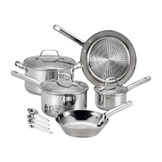 T-Fal 12pc Stainless Steel Cookware Set