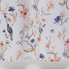 Floral/Bird Shower Curtain - Threshold™ - image 4 of 4