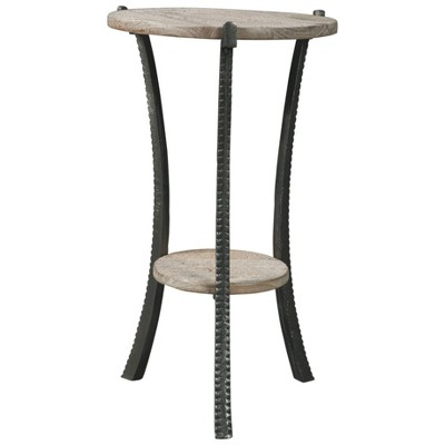 Enderton Accent Table White Wash/Pewter - Signature Design by Ashley