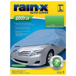 Rain-X Ultra Series Large Car Cover Blue