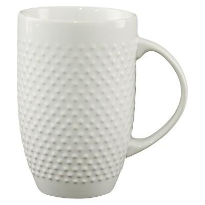 All Over Beaded Mug - White - Threshold™