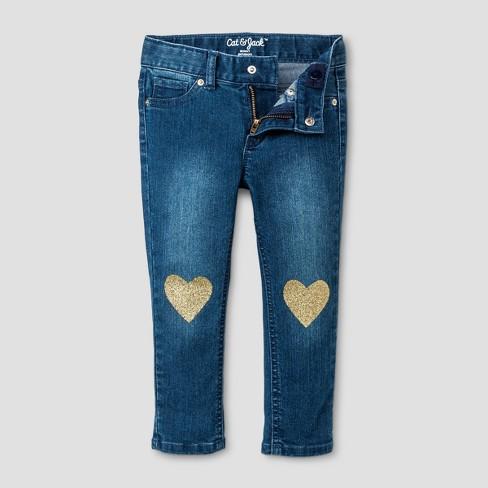 cd5e534627ab6 Toddler Girls' Skinny Jeans - Cat & Jack™ Medium Blue. Shop all Cat & Jack