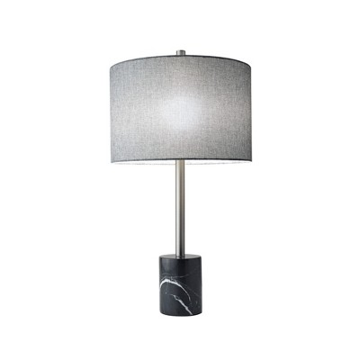 Blythe Table Lamp Steel/Black (Lamp Only)- Adesso