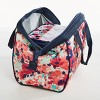 Fit & Fresh Charlotte Lunch Tote - Navy & Pink Tropical Blooms - image 2 of 3