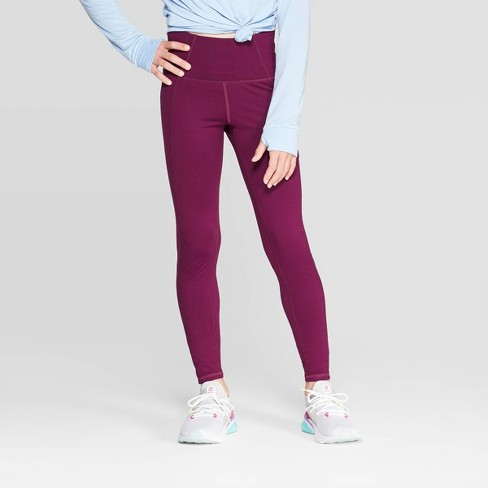 Girls' High Waist Performance Leggings With Pockets - C9 Champion® - image 1 of 3