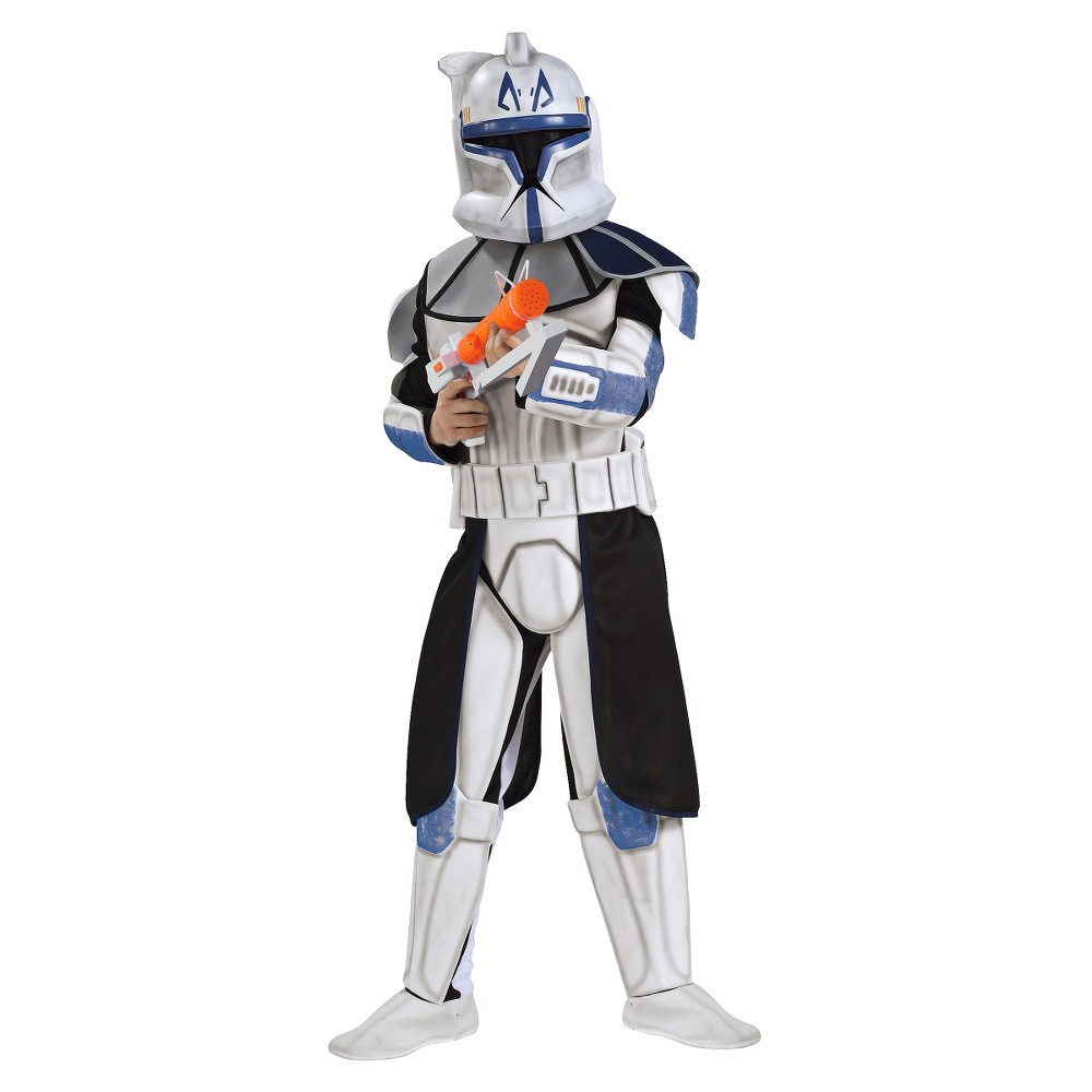 Halloween Kids' Star Wars Clone Trooper Costume - M (7-8), Adult Unisex, Size: Medium(7-8), Black