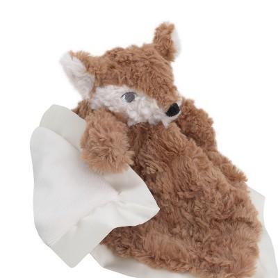 NoJo Cuddle Me Luxury Plush Security Blanket Fox