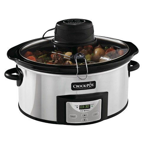 Crock-Pot® 6 Qt. Digital Slow Cooker with iStir™ Stirring System - SCCPVC600AS-P - image 1 of 9