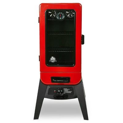 Pit Boss 3 Series LP Gas Smoker 77435 Red