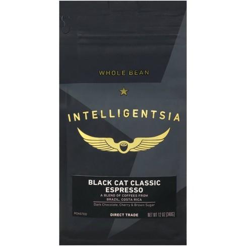 Intelligentsia Direct Trade Black Cat Classic Espresso Roast Dark Roast Whole Bean Coffee -12oz - image 1 of 4